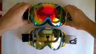 Красивые горнолыжные очки(Хорошие красивые горнолыжные очки. Ссылки на товар: http://ali.pub/1uvd2 http://ali.pub/atf49 Посмотрите страничку с товара..., 2015-09-26T18:41:16.000Z)