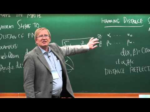 Korean Mathematical Society(2015 KMS Annual Meeting, Public Lectures, Gunnar Carlsson)