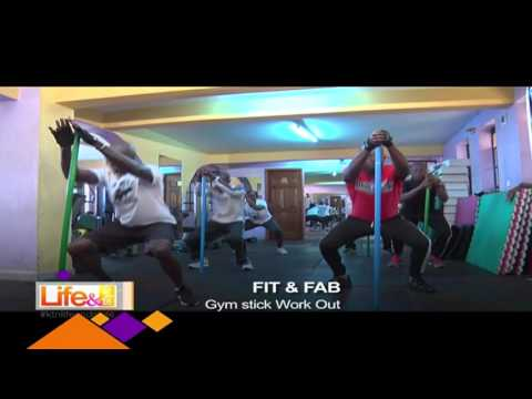 Life and Style: Fit & Fab - Gym Stick workout with Phillip Namasaka - 06/03/2017