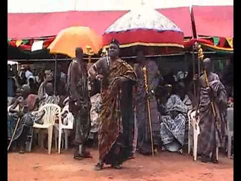 The DANCING CHIEFS of GHANA   INAUGURATION of UPPER MANYA KROBO