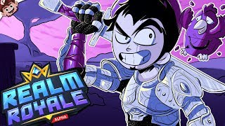 CHILLED POPS OFF! | Sniping Chicken Purple Warrior! (Realm Royale - Duos and Squads Highlights)