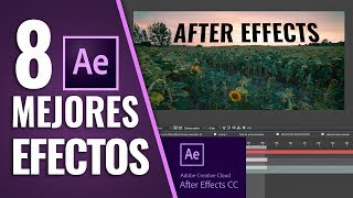 Video 8 MEJORES EFECTOS en AFTER EFFECTS download MP3, 3GP, MP4, WEBM, AVI, FLV Oktober 2018