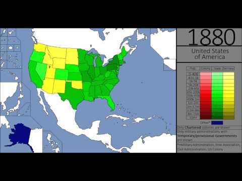 American Demographic History (1629-2015)
