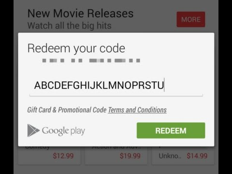 How To Get FREE Playstore REDEEM CODE - YouTube