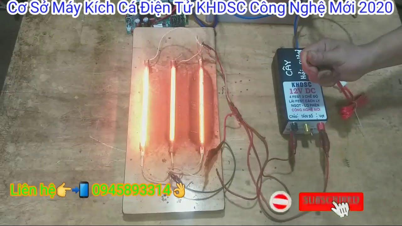KHDSC máy kích cá điện tử 4 fet công nghệ mới, ship đến anh (cây) khách hàng ở hải dương
