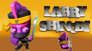 GAMEPLAY COM O LARRY SHINOBI!!!