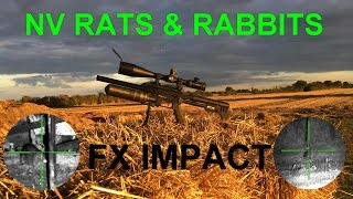 Rat shooting - Air rifle pest control - FX Impact NV rats and rabbits