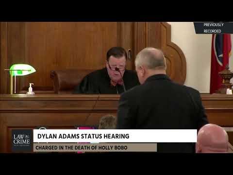 Dylan Adams Status Hearing 12/18/17