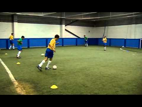 Technical training for football/soccer players - Learn the B