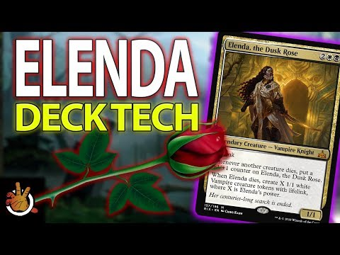 Elenda, the Dusk Rose - Deck Tech l The Command Zone #194 l Magic the Gathering Commander EDH