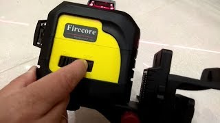 Overview Firecore F93TR Professional 3 Plane Laser Level Self-Leveling tool MUST Have | FunPhotOK