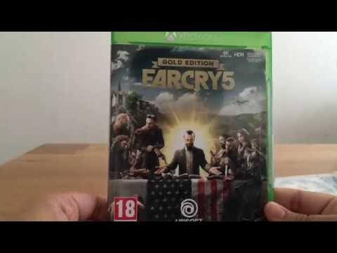 EARLY Far Cry 5 Gold Edition Unboxing Xbox One