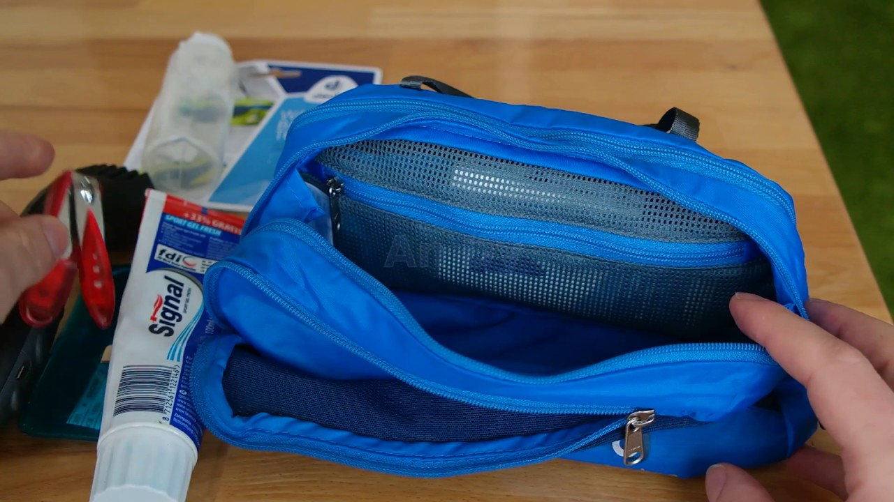 new products online here best sneakers Review Deuter Wash Bag Tour III (39444-3333)
