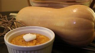 Low- Calorie Butternut Squash Soup