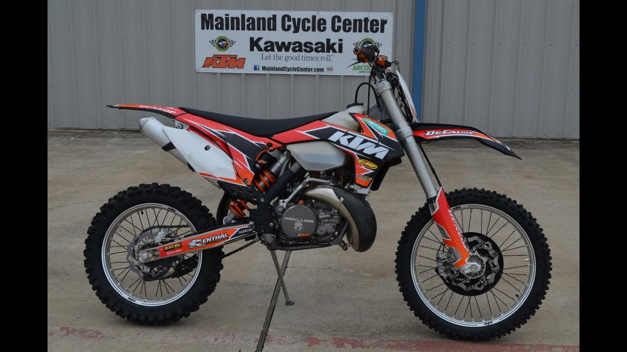 $5,699: for sale pre owned 2014 ktm 250 xc w with rekluse auto