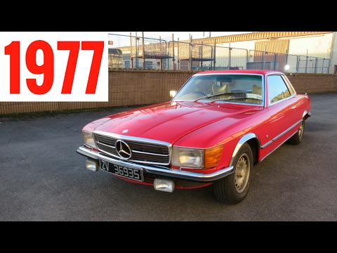 Driving A Classic 1977 Mercedes-Benz 450 SLC - Stavros969