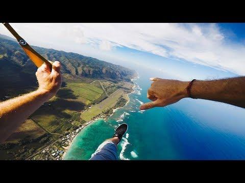 LUCKY WE LIVE HAWAII!! | SURF | SKYDIVE | VLOG 005