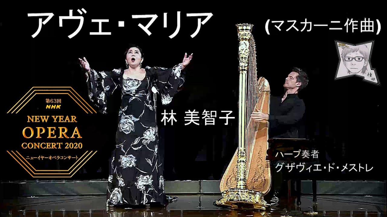 アヴェ・マリア(マスカーニ作曲)/林 美智子(メゾソプラノ)