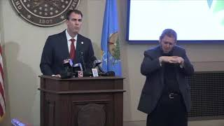 Gov. Stitt outlines phase 2 of reopening of state