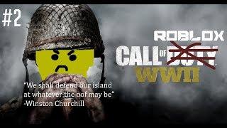 Anton Plays - Call Of Duty: WWII, aber es ist Roblox.. wieder.