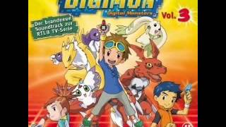 "Digimon Tamers Soundtrack  10  ""Flieg mit dem Wind"" German/Deutsch"