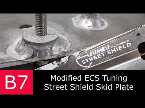 Custom Skid Plate Install | ECS Tuning Street Shield Audi A4 DIY