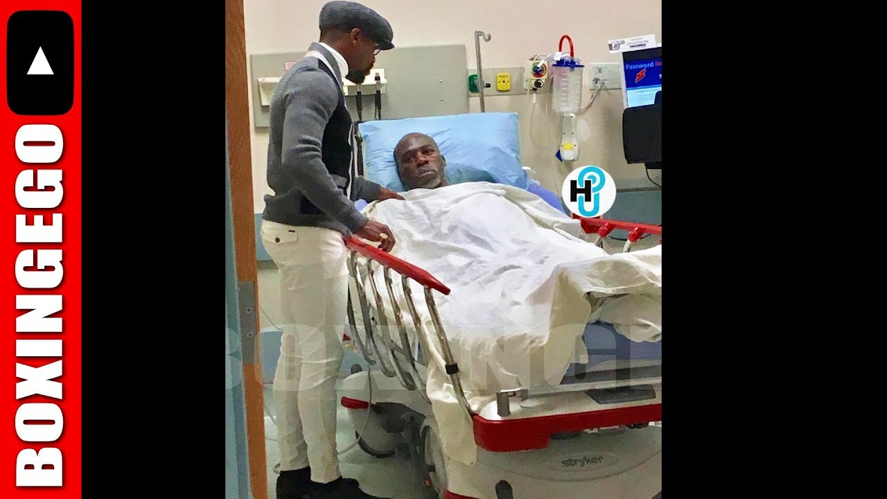 FLOYD MAYWEATHER VISITS UNCLE ROGER ...