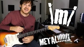 Metal Warm Up Riff (lesson video)