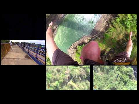 Into Africa: Victoria Falls / My First Bungee Jump - 8/15