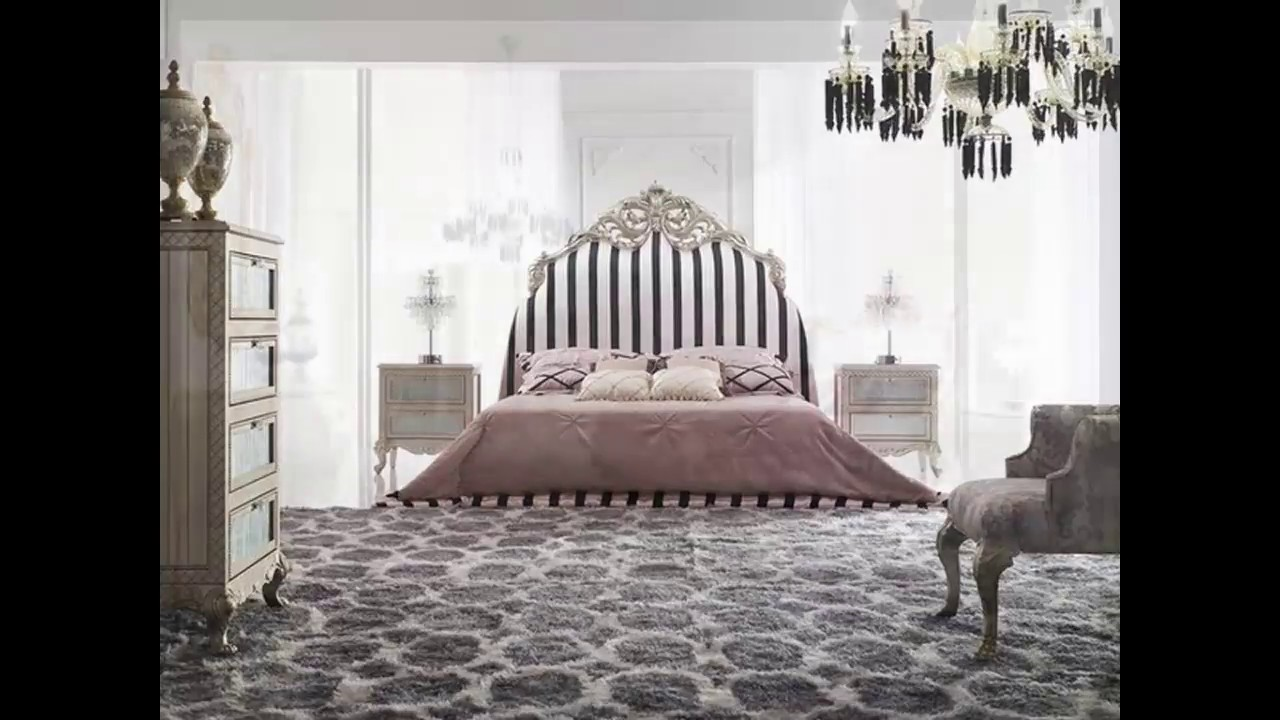 moderne barock schlafzimmer - YouTube