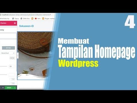 tutorial-wordpress-part-4- -cara-membuat-tampilan-homepage-wordpress