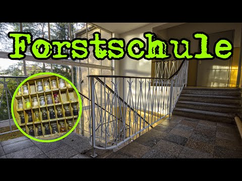 LOST PLACES | ehemalige Forstschule / abandoned forestry school - Urban Exploring Germany