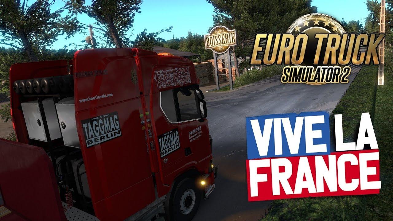 Traffic Density Mod | Euro Truck Simulator 2 | Vive La France