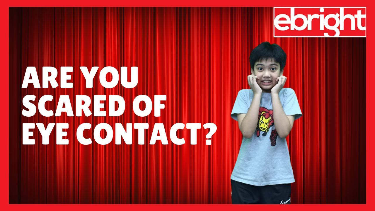 What Kids Say | Why is Eye Contact Scary?