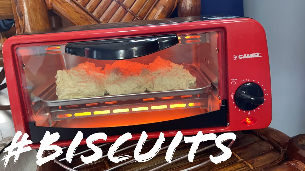 """I'm Making #Homemade #Biscuits in My NEW $21 USD Heavy-Duty Commercial #Baking #Oven """"THE CAMEL"""""""