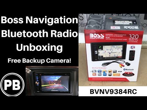 Boss Navigation Bluetooth Touch Screen Unboxing | BVNV9384RC