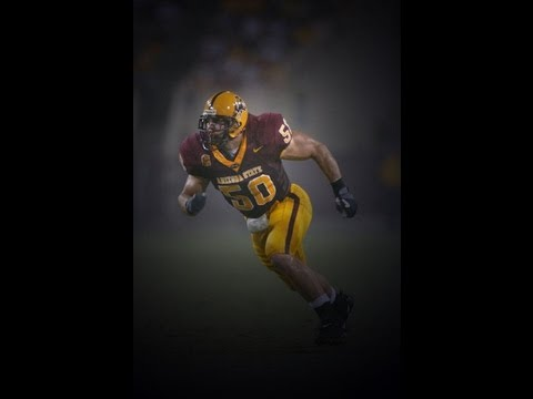 Kyle Caldwell #50 - Arizona State Defensive End - Highlights