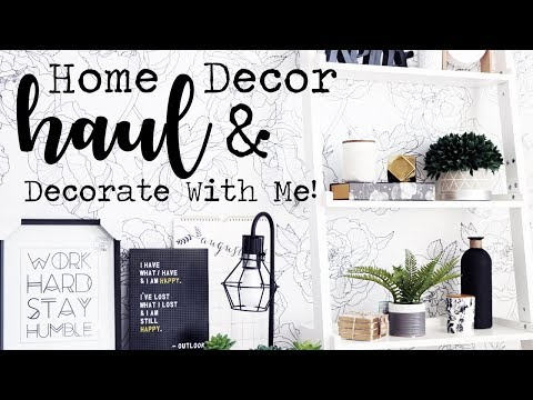 Home Decor Haul & Decorate With Me! || Homesense, B&BW & More!