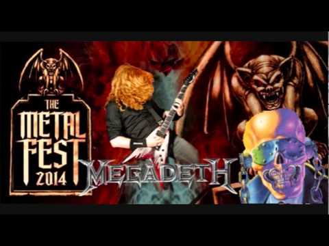Megadeth Trust [Live in Santiago Chile] The Metal Fest 2014