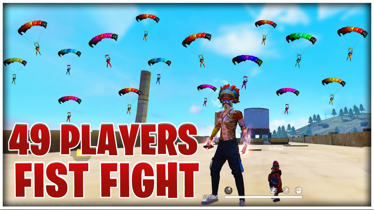ALL PLAYER LANDING ON FACTORY TOP  | FIST ONLY | MR JUNIOR | GARENA - FREEFIRE