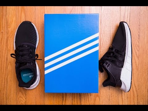 Adidas Equipment 'EQT' Support 93/17 Milled Leather Review and On Feet