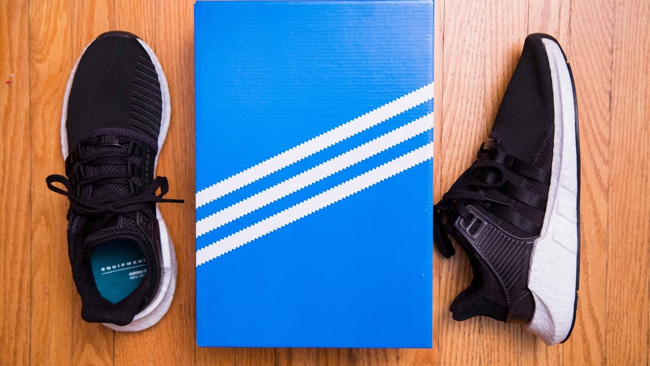 first rate be99f dd2b5 Adidas Equipment EQT Support 9317 Milled Leather Review and On Feet