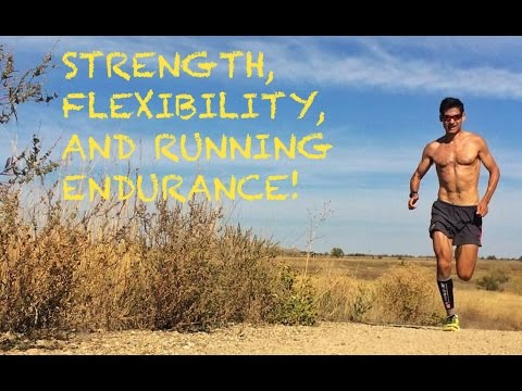 STRENGTH TRAINING AND STRETCHING FOR DISTANCE RUNNING?! | SAGE RUNNING Training Talk