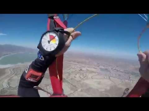 Wingsuit cutaway.  Parachute shit show.  Riser twist downward spiral.