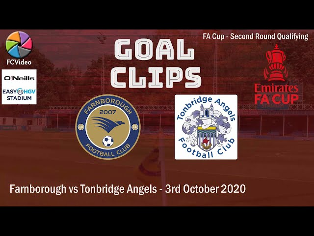 2020-10-03 | Farnborough vs Tonbridge Angels |  Goal Clip