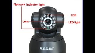 Wanscam JW0008 / JW0004 IP Camera android app E-view7 tutorial and installation
