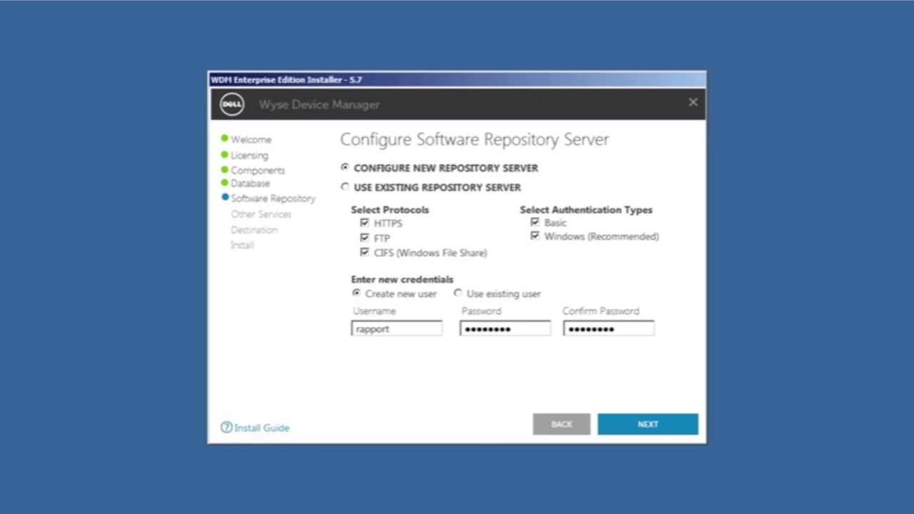 How to Install Wyse Device Manager Enterprise Edition