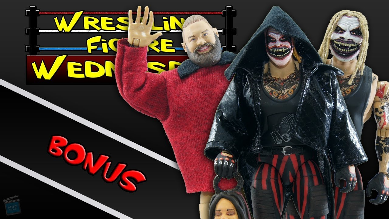 The Fiend Bray Wyatt Custom Mattel Elite Head Cast Painted FOR ACTION FIGURES