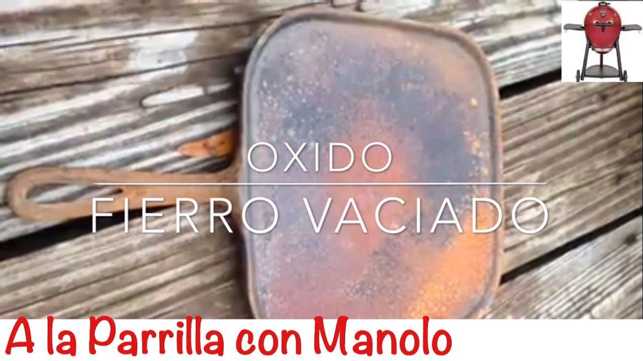 Como limpiar xido del fierro vaciado how to remove r - Como limpiar hierro oxidado ...