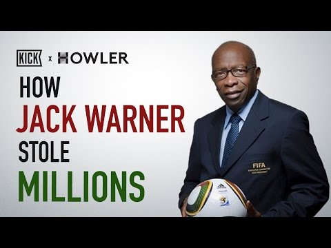 How Jack Warner Stole Millions (And Possibly Sent USA to the World Cup)